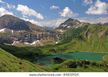 mountain scenery - Schrecksee