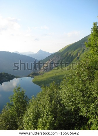 Mountain Summer - stock photo