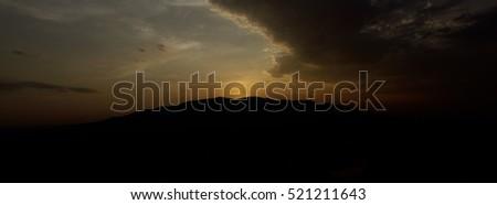 Mountain sunset #521211643