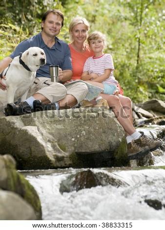 Mountain trip - stock photo