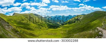 Mountain valley in Carinthia, Austria #303002288