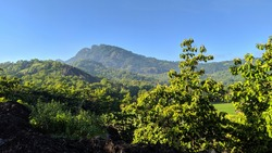 mountain view at the vilage