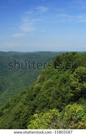 mountain vista in south carolina