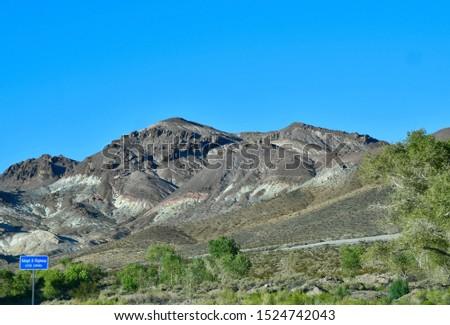 Mountain vista on the Mt Lemmon Scenic Byway just outside Tucson, Arizona. #1524742043