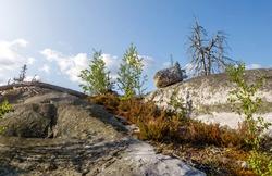 Mountain Vottovaara, Karelia, Russia