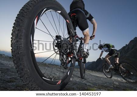Mountainbike downhill - Mountain biking Dolomites South Tyrol