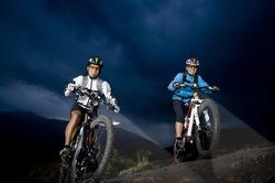 Mountainbike - Mountainbiking in the evening