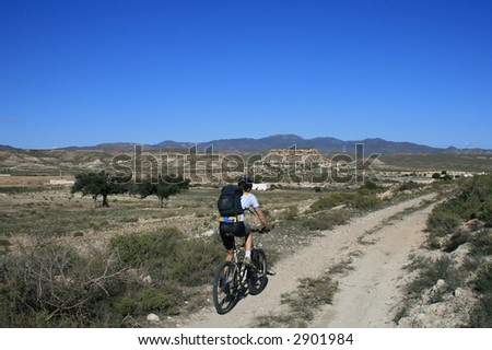 Mountainbike-tour at Cabo de Gata, Spain