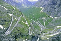 Mountainroad Trollstigen
