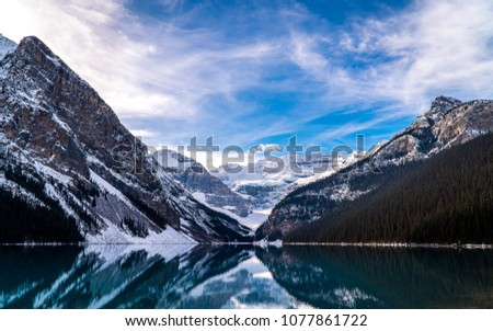 Mountains and lakes found in Banff during the winter. Featuring Lake Louise, Mt Rundle, Cascade Mountain, Bow River, Vermilion lake, Sulphur mountain, Johnston Canyon and Sunshine Village.