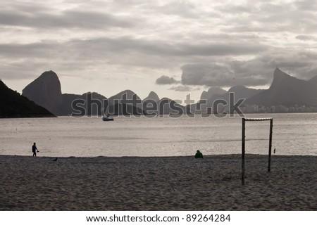 Mountains and sky in Rio de Janeiro area