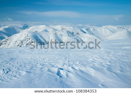 Mountains Hibiny at winter #108384353