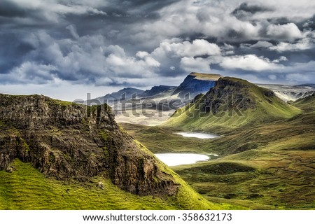 Mountains in Highland,Scotland