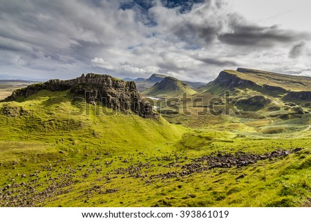 Mountains in Highland,Scotland #393861019