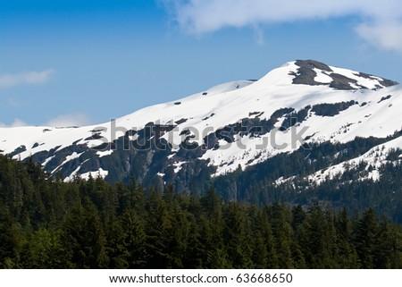 Mountains in Ketchikan, Alaska