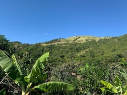 Mountains in Ocoa, Dominican Republic