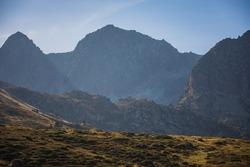 Mountains in Pirineos, Andorra, Europe