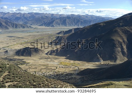 Mountains in Tibet