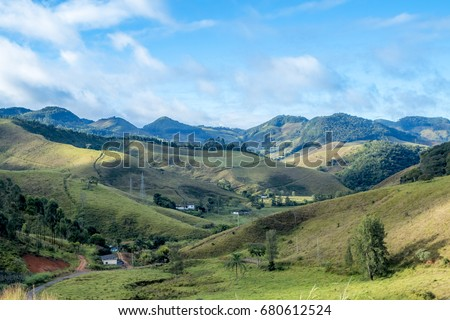 Mountains of minas gerais