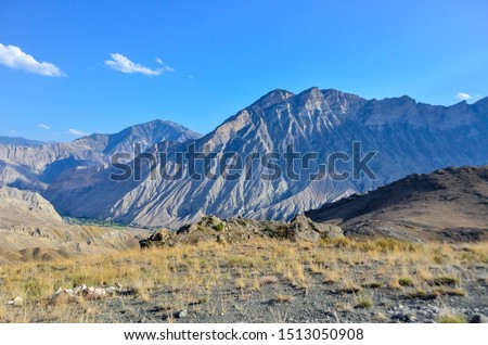 Mountains of north-east of Turkey, in Yusufeli-Artvin city. Stok fotoğraf ©