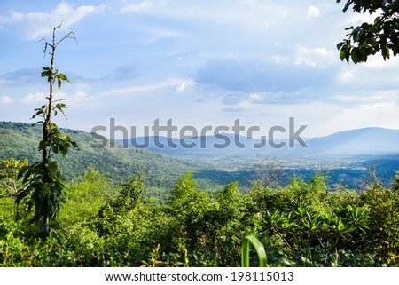 Mountains on the Blue Ridge