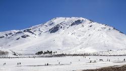 Mountains oukaimeden morocco marrakech, haut atlas chaine montagneuse marocaine, atlas mountains, ski station