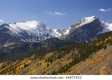 Mountains, Rocky Mountain National Park