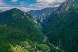 Mountains Rugova Kosovo , a famous natural spot and tourist scenic spot, a world natural heritage site.