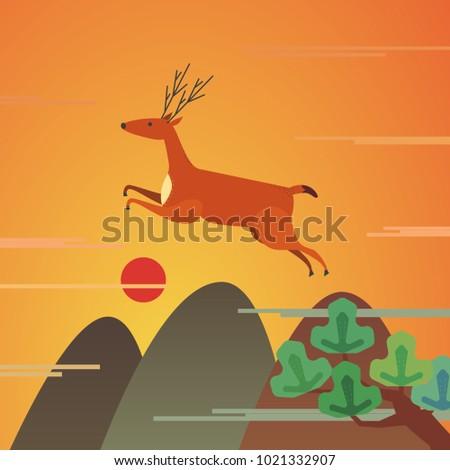 mountains wildlife landscape....