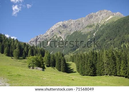 Mountainscape Hochimst / Tyrol / Austria