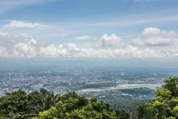 Mountaintop View From Wat Phra That Doi Suthep