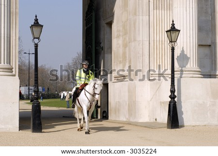 Mounted Police in London #1
