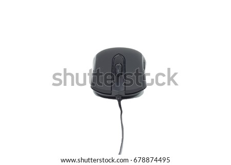 Mouse Black PC corded #678874495
