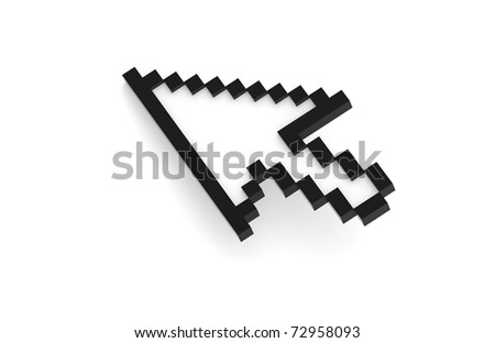 Mouse Cursor, Black