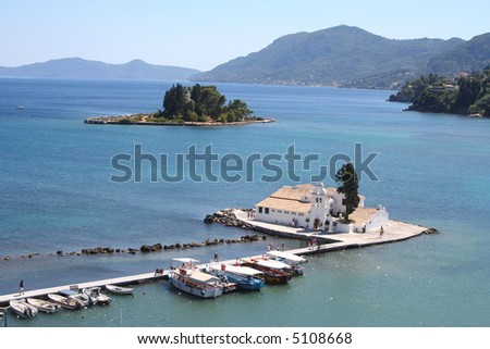 Mouse Island, Corfu, Greece. Stock Photo 5108668 : Shutterstock