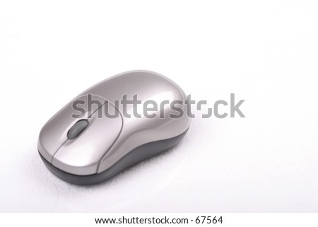 Mouse Left - stock photo