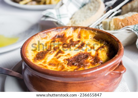 Moussaka - traditional greek dish