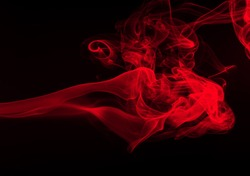 movement of smoke abstract background
