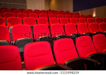 Movie Theater Seats #1115998259