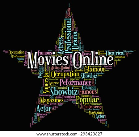 Movies Online Representing World Wide Web And Film Shows