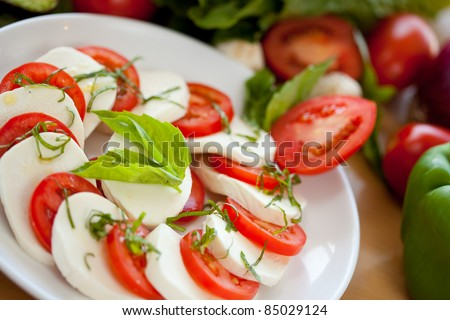 Mozzarella and Tomato 5