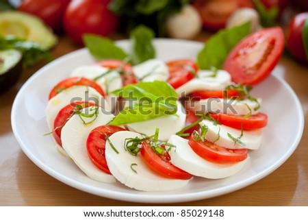 Mozzarella and Tomato 6