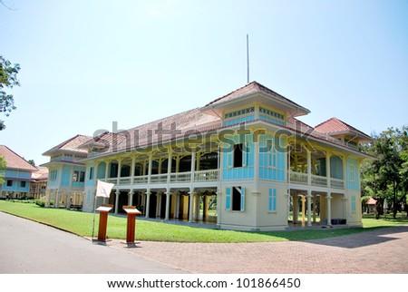 Mrigadayavan,Thai royal palace,Hua Hin,Thailand