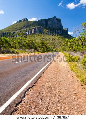 Mt Abrupt, Grampians National Park, Victoria, Australia - stock photo