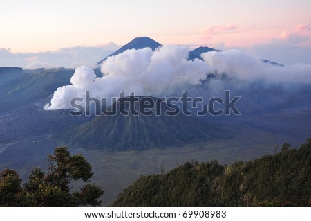 Mt. Bromo volcano, East Java, Indonesia