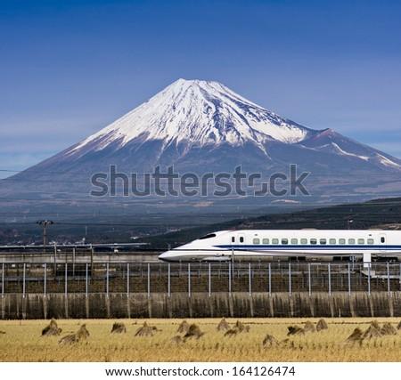 Mt. Fuji in Japan #164126474