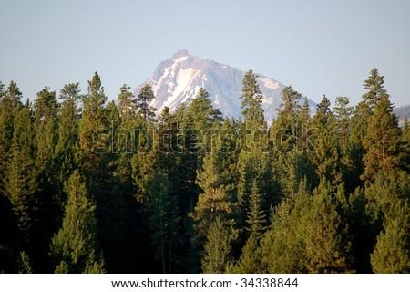 Mt. Jefferson Over Black Butte Ranch