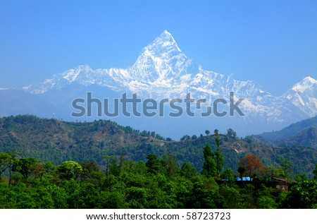 Mt. Machapuchare, Nepal