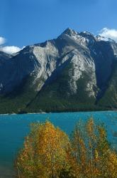 Mt Michener, synclines,  David Thompson Parkway,Canadian Rockies,Banff,Jasper,Alberta, Canada