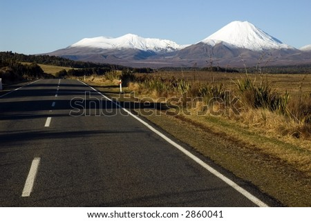 Mt. Ngauruhoe New Zealand